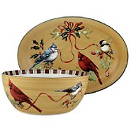 Lenox Winter Greetings Everyday 2-piece Serving Bowl and Platter Set at Sears.com