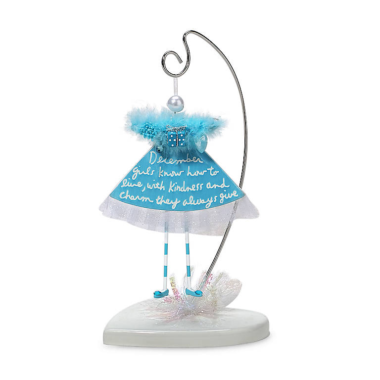 Calendar Gal Ornament - December, Home Decorating by Lenox
