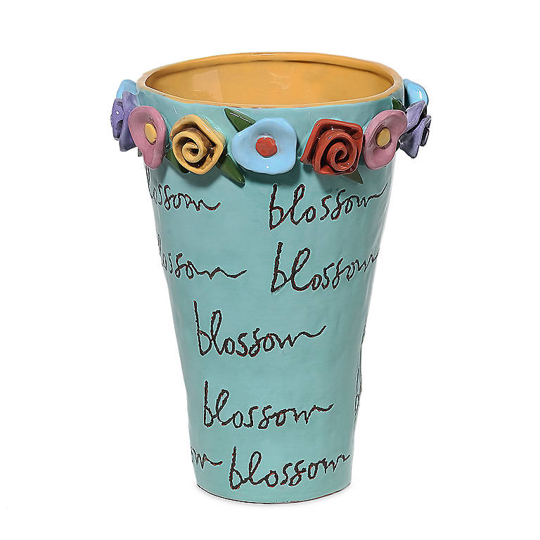 Blossoms Message Vase, Home Decorating Vases by Lenox