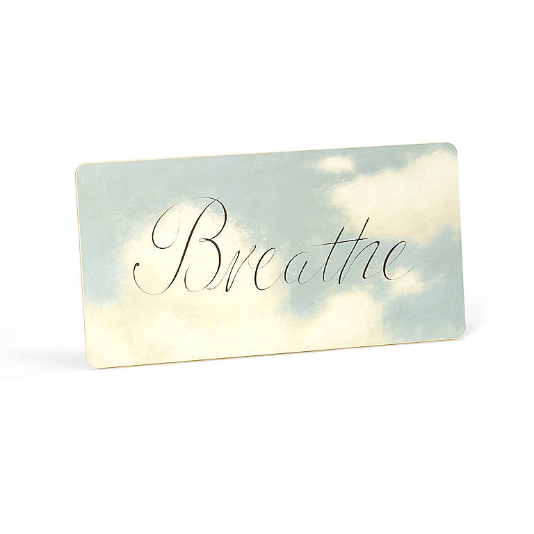 Wood Breathe Plaque, Photography and Prints by Lenox