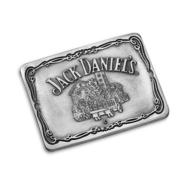 Pewter Jack Daniel's Scenes from Lynchburg Belt Buckle, Gifts by Occasion Father's Day by Lenox