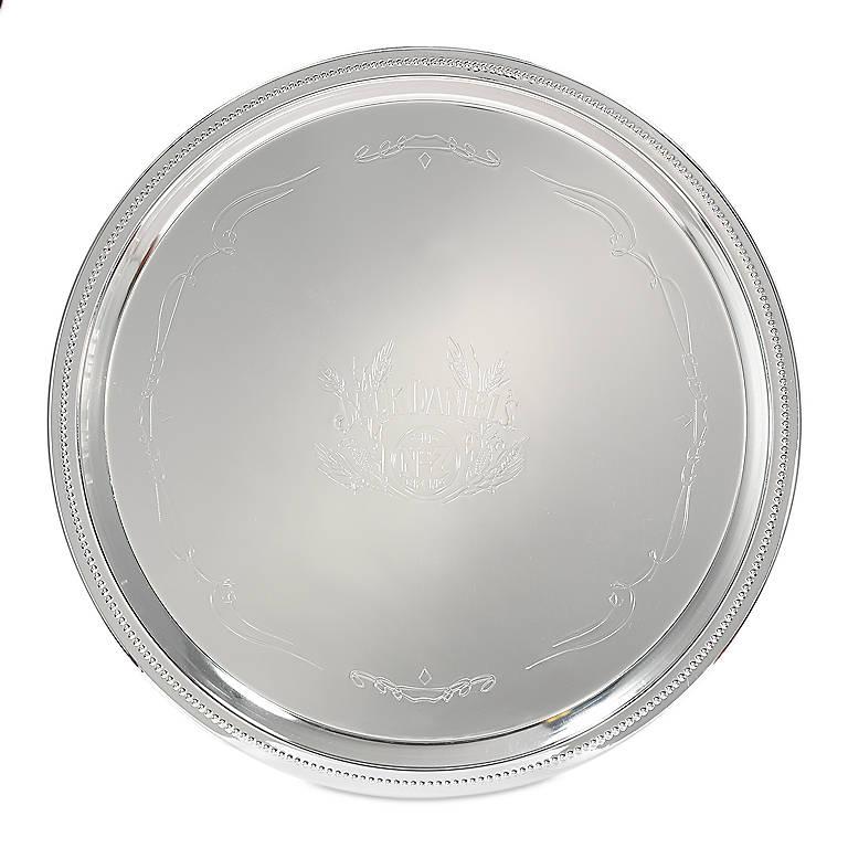 Silverplated Jack Daniel's Old No. 7 Serving Tray, Dinnerware Tableware Barware by Lenox