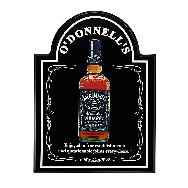 Wood Jack Daniel's Personalized Bar Sign, Gifts by Occasion Father's Day by Lenox