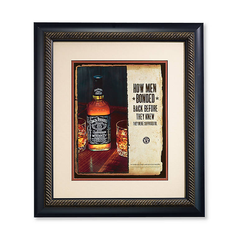 Resin How Men Bonded Print by Jack Daniel's, Photography and Prints by Lenox