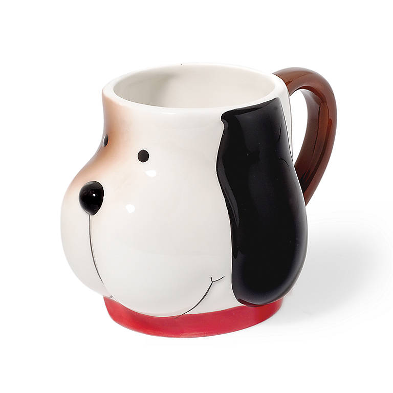 Ceramic Department 56 Dog Mug, Miniatures and Figurines Animals by Lenox