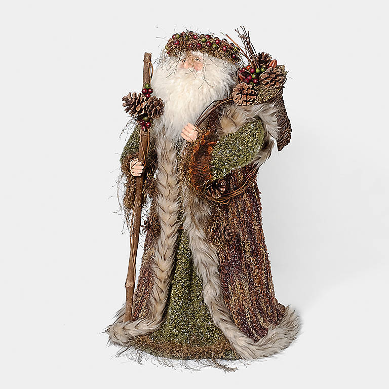 Porcelain Department 56 Old World Santa Figurine, Sculpture by Lenox