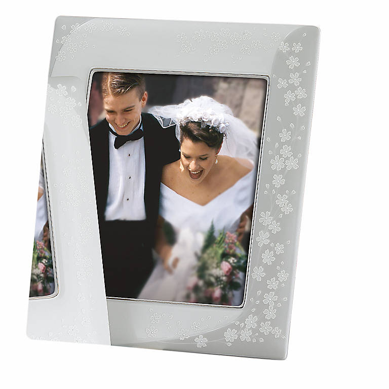 Porcelain Bellina 8x10 Frame by Lenox, Home Decorating Picture Frames by Lenox