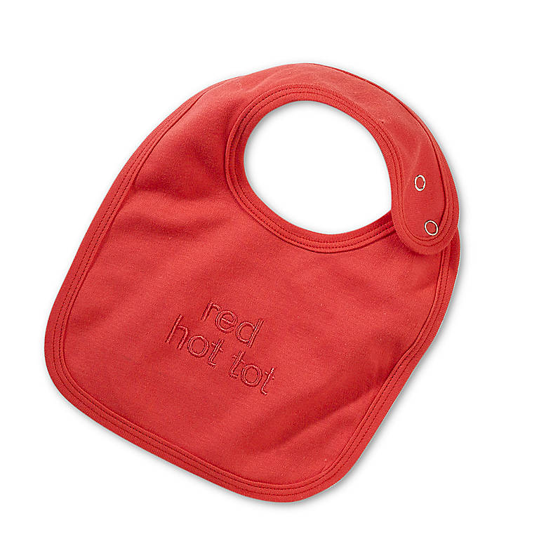 Red Hot Tot Bib, Gifts by Occasion New Baby by Lenox