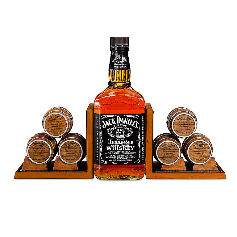 Resin Jack Daniel's Whiskey Barrel Bookends, Gifts by Occasion Father's Day by Lenox