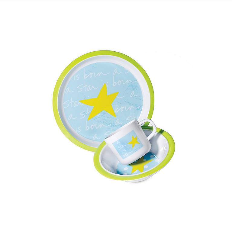 Baby Boy Melamine 3-piece Set, Gifts by Occasion New Baby by Lenox