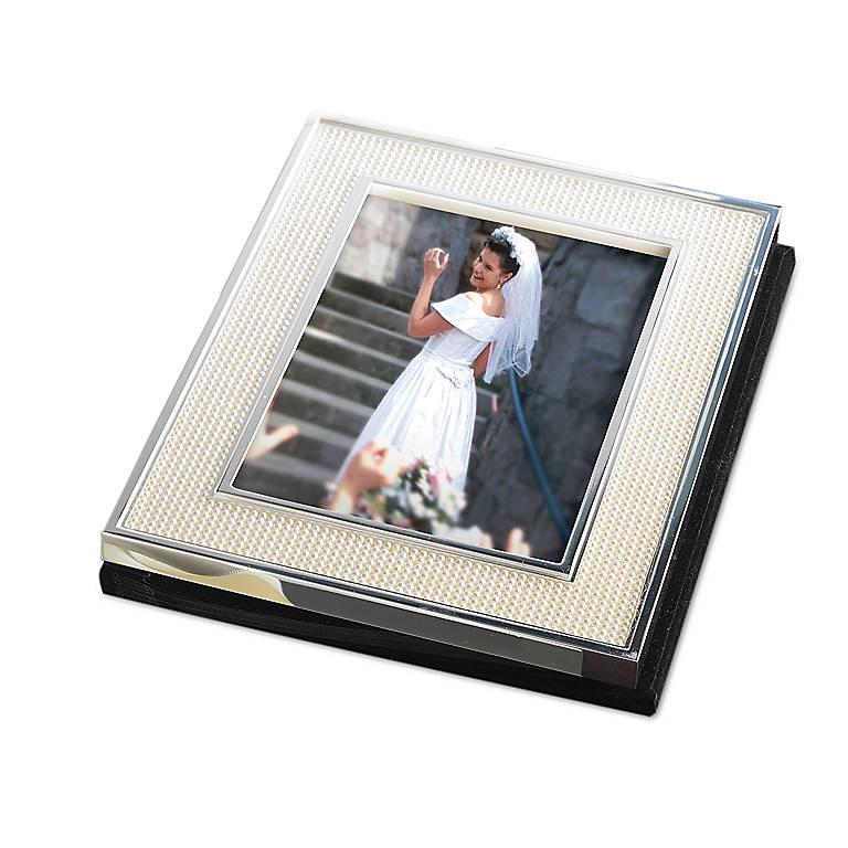 Metal Jubilee PearlBookshelf Album by Lenox, Home Decorating Picture Frames by Lenox