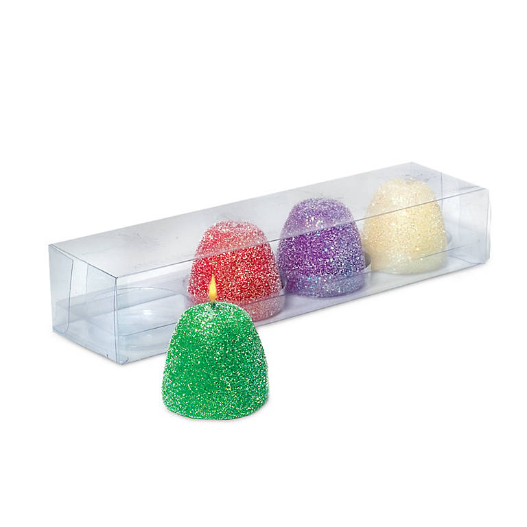 Goody Gumdrop Candles, Set of 4, Home Decorating by Lenox