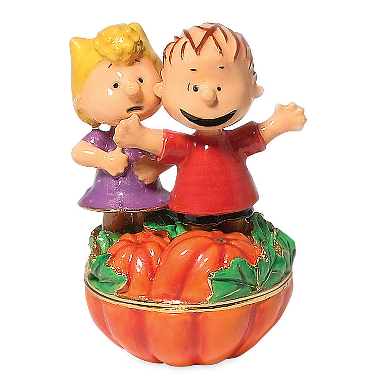 Metal Pumpkin Patch Surprise Jeweled Box, Gifts by Occasion Halloween by Lenox