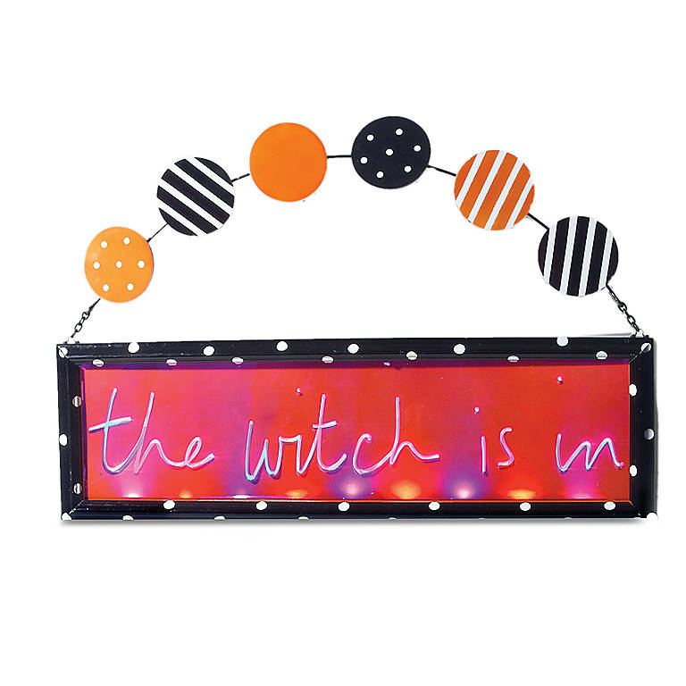 Acrylic Halloween Hanging Outdoor Sign, Gifts by Occasion Halloween by Lenox