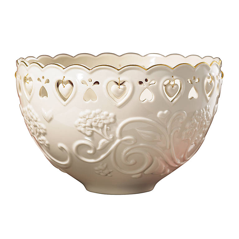 Porcelain Floating Hearts Bowl by Lenox, Gifts by Occasion Housewarming by Lenox