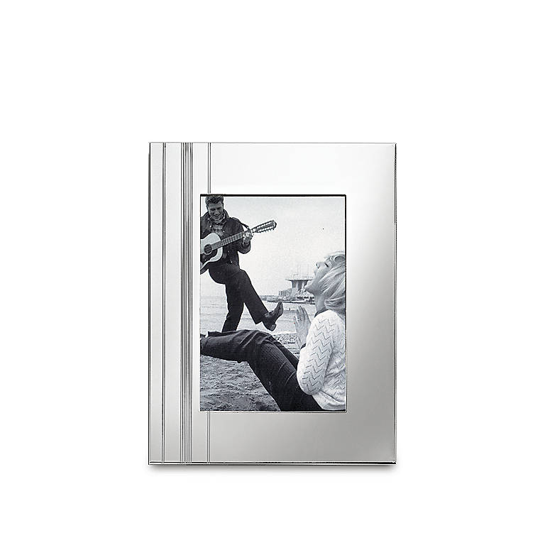 Silverplated kate spade Belle Boulevard Bookshelf Album, Home Decorating Picture Frames by Lenox