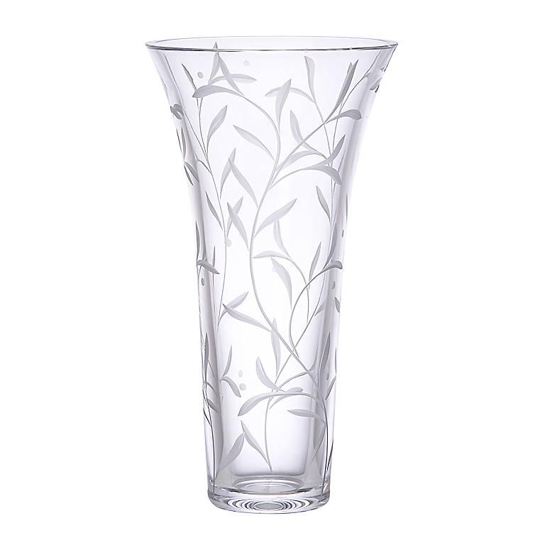Crystal Opal Innocence Vase by Lenox, Home Decorating Vases by Lenox