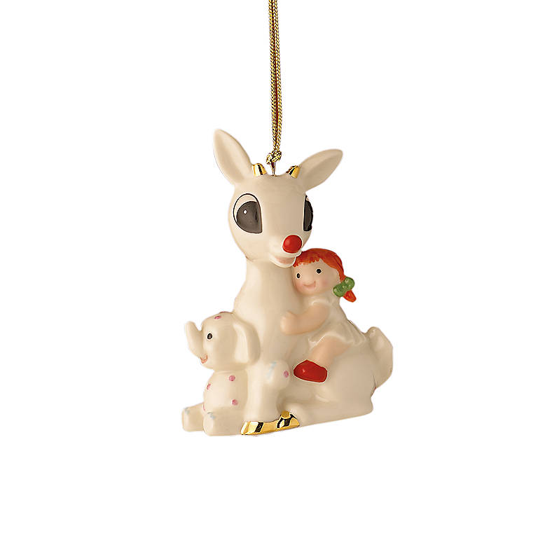Ivory China Rudolph 's Misfit Friends Ornament by Lenox, Gifts by Occasion Christmas by Lenox