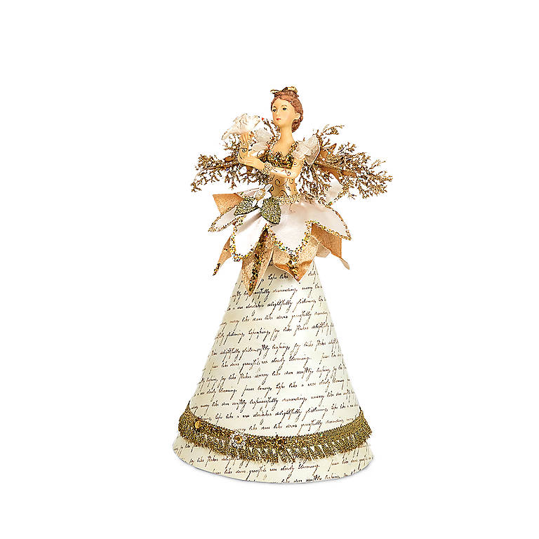 Cone Angel, White Dress, Miniatures and Figurines Angels by Lenox