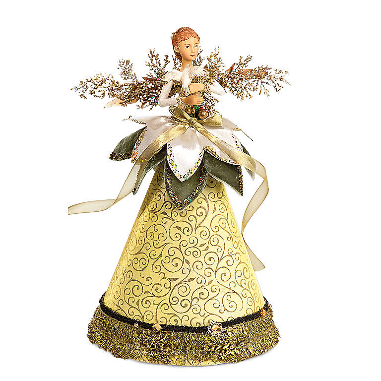 Cone Angel, Yellow Dress, Miniatures and Figurines Angels by Lenox