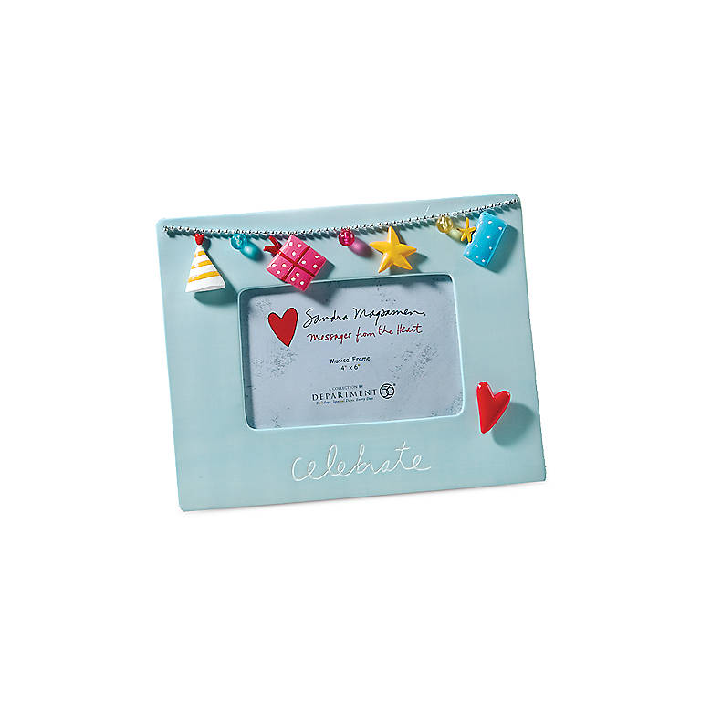 Musical Frame - Celebrate, Home Decorating Picture Frames by Lenox