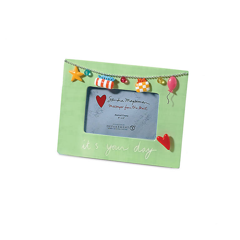 Musical Frame - Good Day, Home Decorating Picture Frames by Lenox