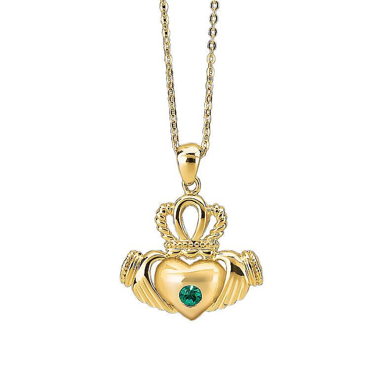 Sterling Silver Lenox Grande Tour Pendant - Ireland, Costume Jewelry by Lenox