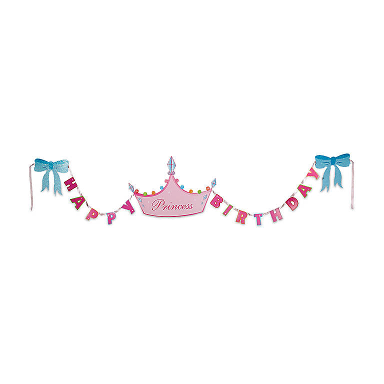 Paper Department 56 Princess Party Garland, Stationery by Lenox