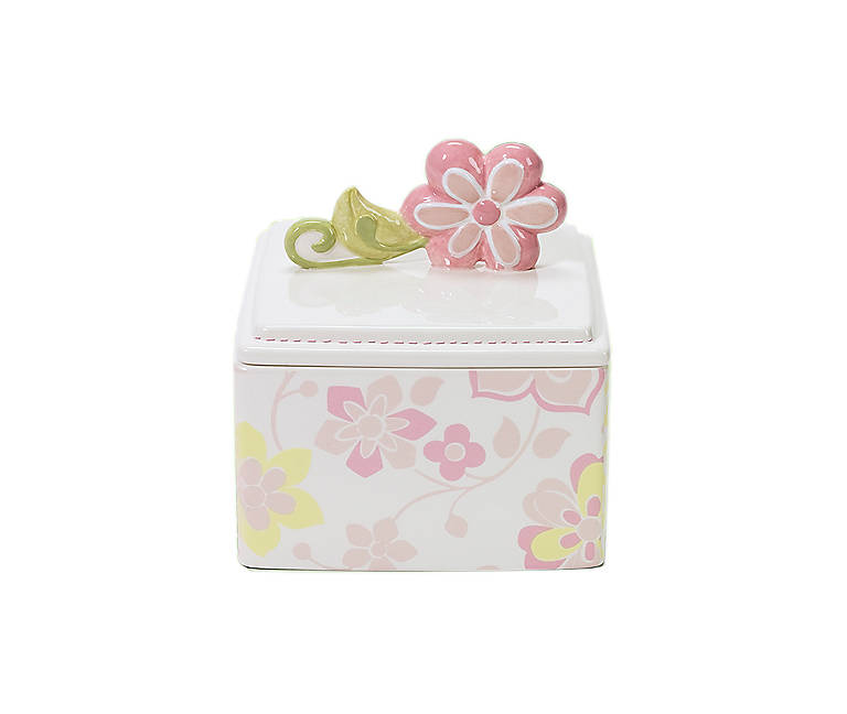Ceramic Department 56 Girl Ceramic Keepsake Box, Gifts by Occasion New Baby by Lenox