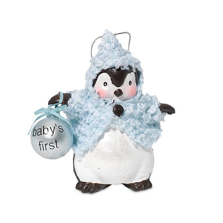 Resin department 56 Boy Baby's 1st Penguin Ornament, Gifts by Occasion New Baby by Lenox