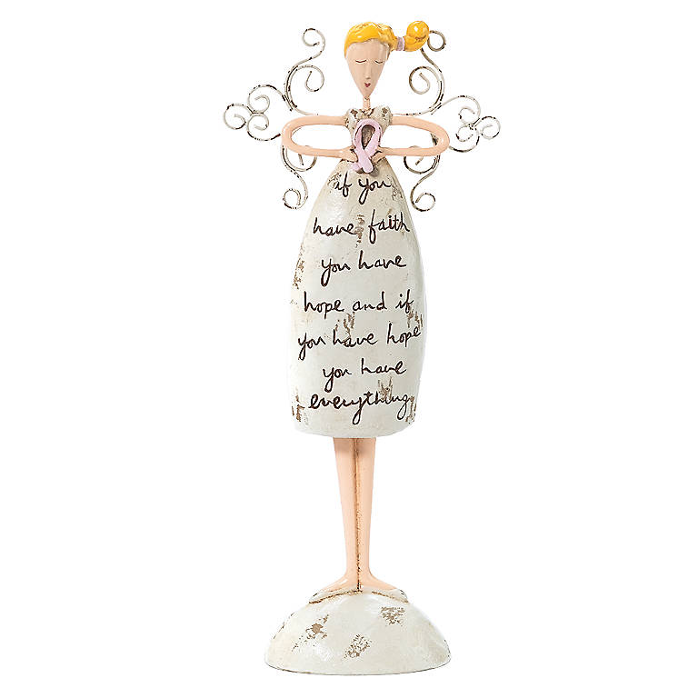 Sandra Magsamen Breast Cancer Angel, Miniatures and Figurines Angels by Lenox
