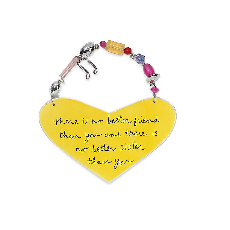 Ceramic Better Friend Musical Message Plaque, Photography and Prints by Lenox