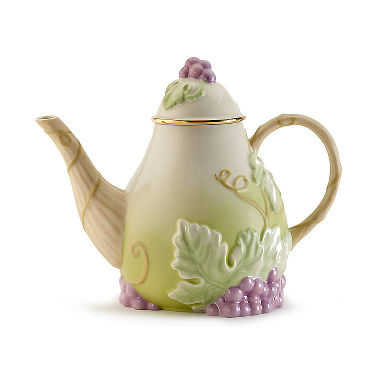 Ivory China Teatime Pear-fection Teapot by Lenox, Dinnerware Serving Pieces Teapots by Lenox