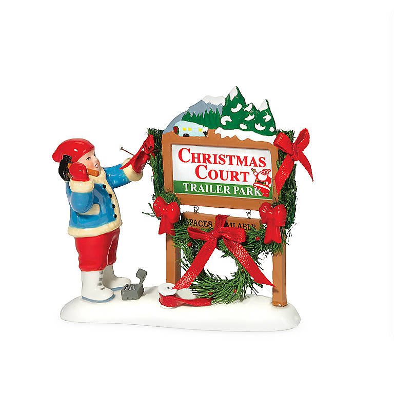 Ceramic Welcome To Christmas Court', Gifts by Occasion Christmas by Lenox