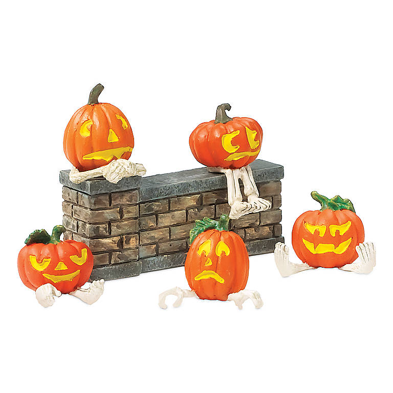 Resin Pumpkin Heads, Gifts by Occasion Halloween by Lenox