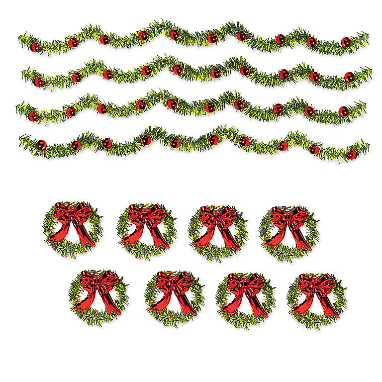 Department 56 'Classic Tinsel Trim', Set of 12, Gifts by Occasion Christmas by Lenox