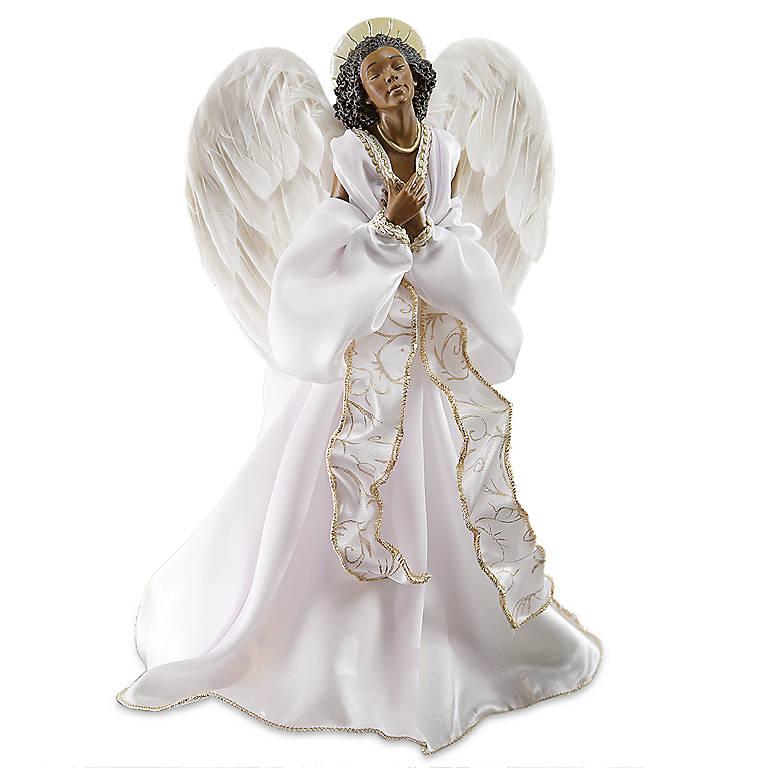 Fabric Thomas Blackshear's Faith Tree Topper, Miniatures and Figurines Angels by Lenox