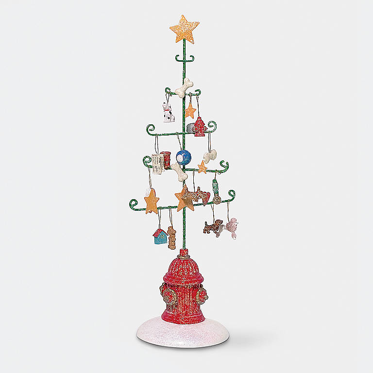 Department 56 Dog Tree, Miniatures and Figurines Animals by Lenox