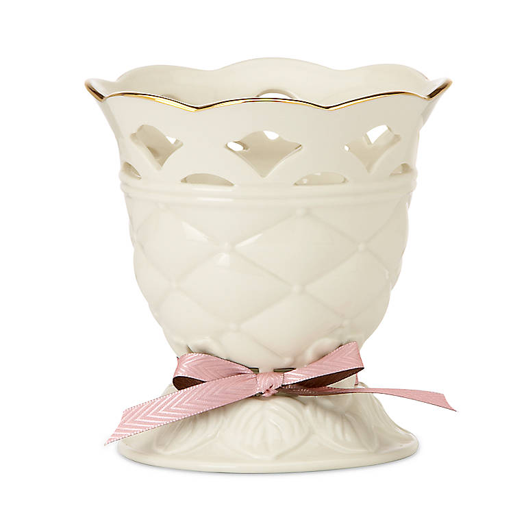 Porcelain Tied with Love Venus Votive by Lenox, Home Decorating Candles by Lenox