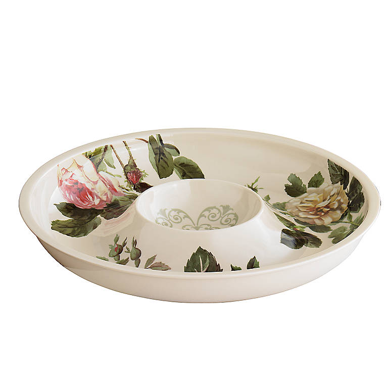 Ironstone Lenox Accoutrements Chip 'n' Dip, Dinnerware Serving Pieces Chip 'n' Dip by Lenox