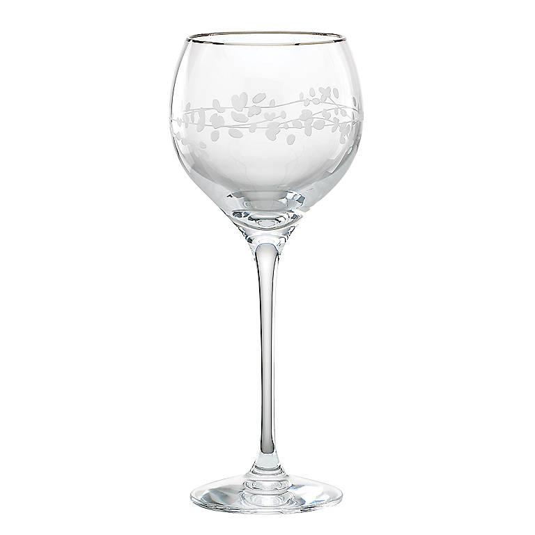 Crystal kate spade Gardner Street Goblet, Dinnerware Tableware Glasses and Mugs by Lenox