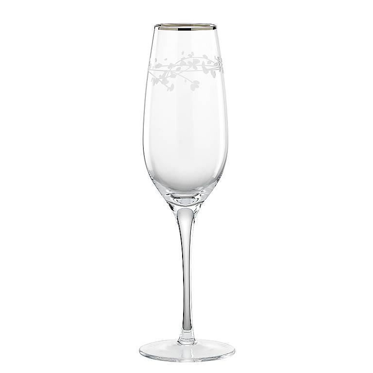 Crystal kate spade Gardner Street Iced Beverage Glass, Dinnerware Tableware Glasses and Mugs by Lenox