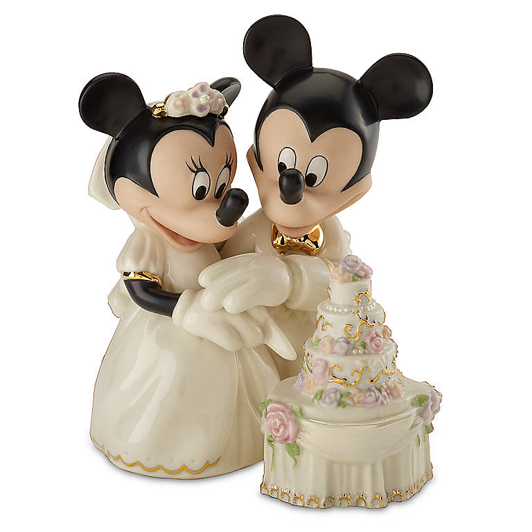 Ivory China Lenox Personalized Minnie's Dream Cake, Sculpture by Lenox