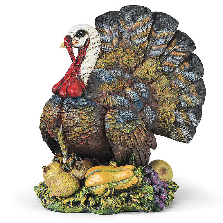 Resin Joseph's Studio Turkey Sculpture, Sculpture by Lenox