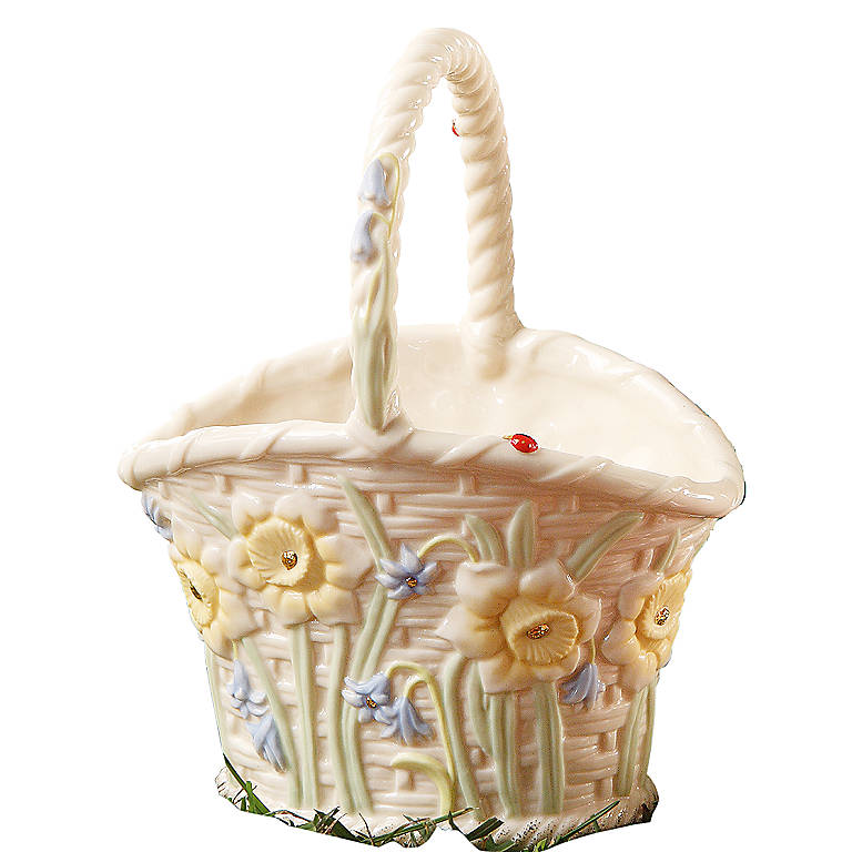 Ivory China Spring Basket by Lenox, Home Decorating Baskets by Lenox