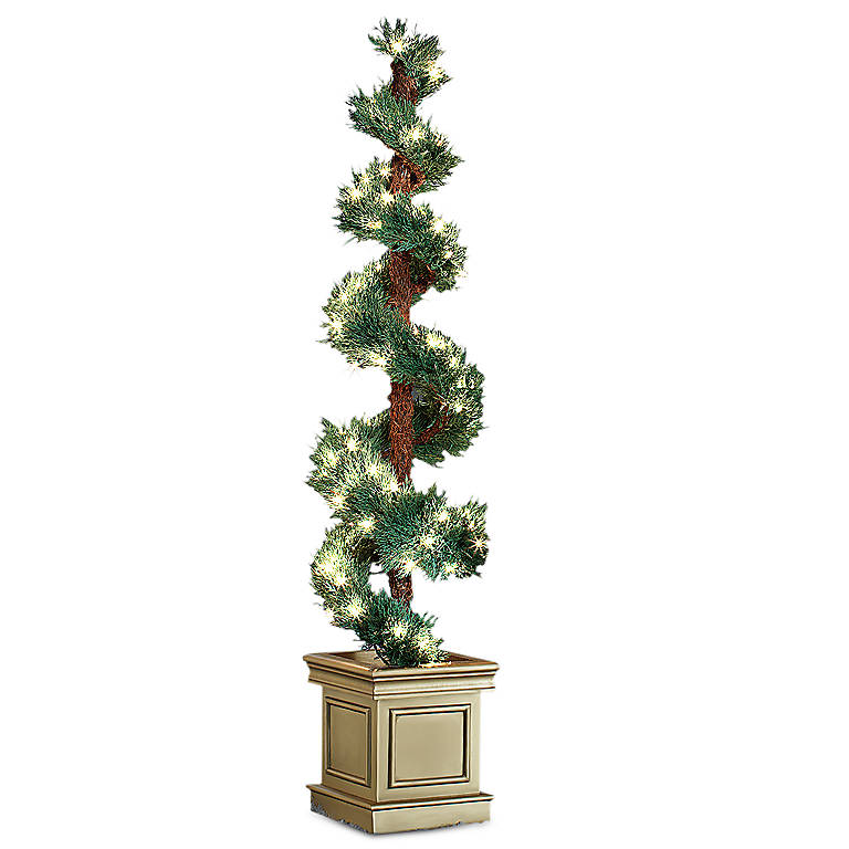 Lighted Spiral Topiary, Gifts by Occasion Christmas by Lenox