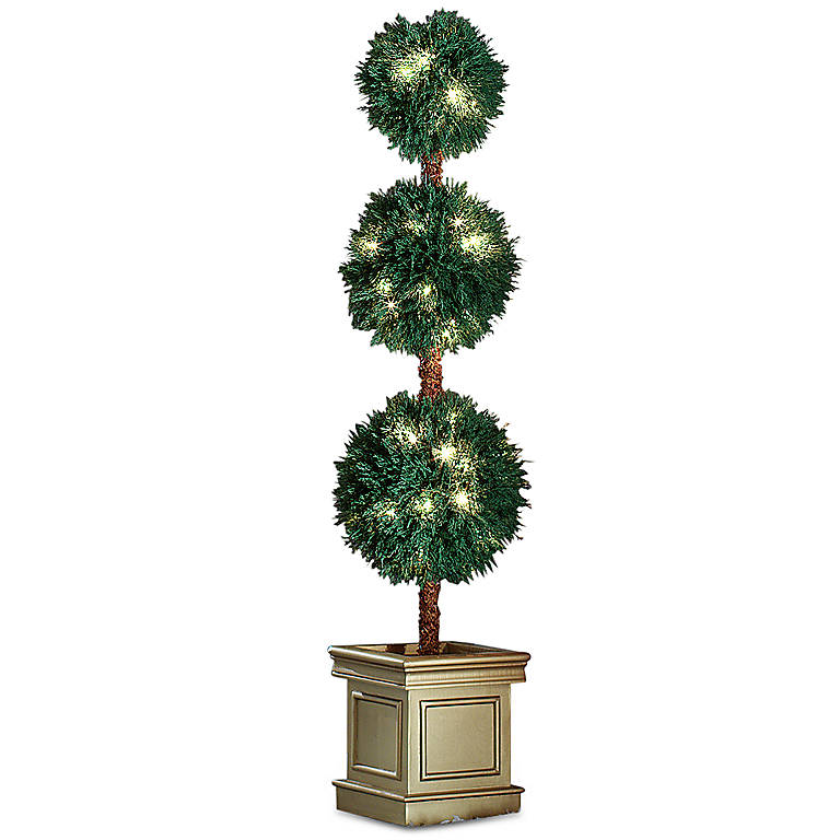 3-tiered Lighted Topiary, Gifts by Occasion Christmas by Lenox