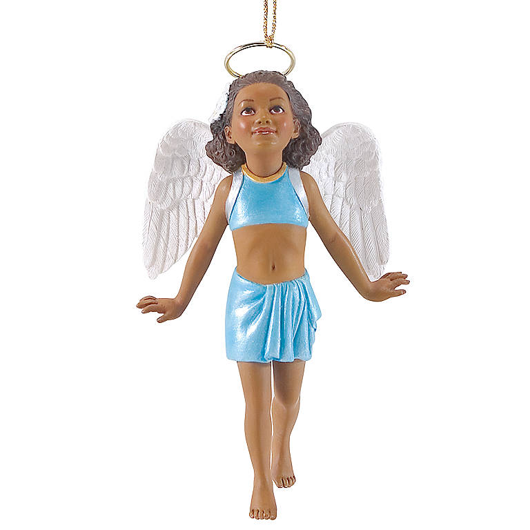 Resin Jamboree Parade Summer's Flight Ornament from Lenox by Thomas Blackshear, Miniatures and Figurines Angels by Lenox