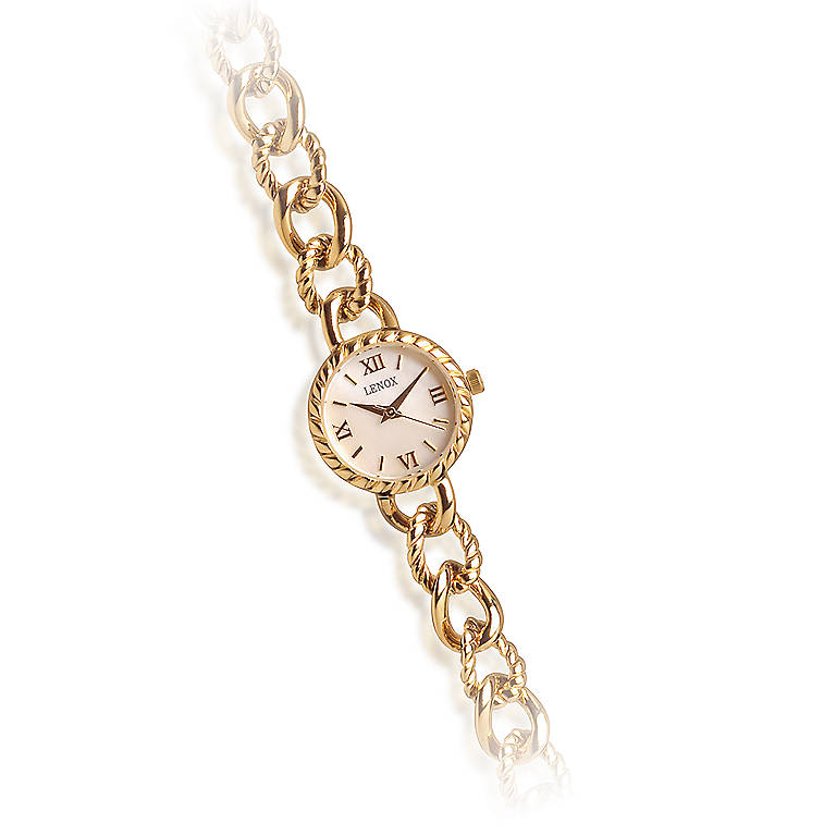 Sterling Silver Curb Link Watch by Lenox, Women's Watches by Lenox