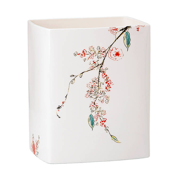 Bone China Simply Fine Lenox Chirp Square Vase/Candlescape, Home Decorating Vases by Lenox